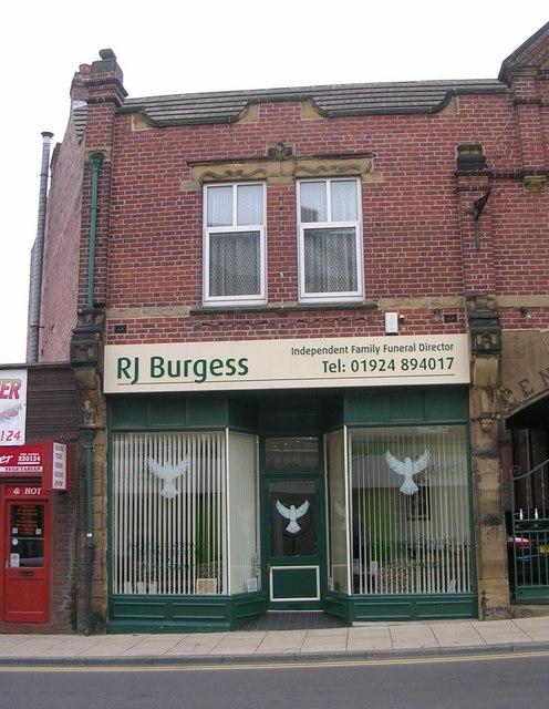 R J Burgess Funeral Director - Altofts Road