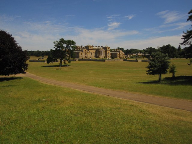 Holkham Hall, from the Ice House
