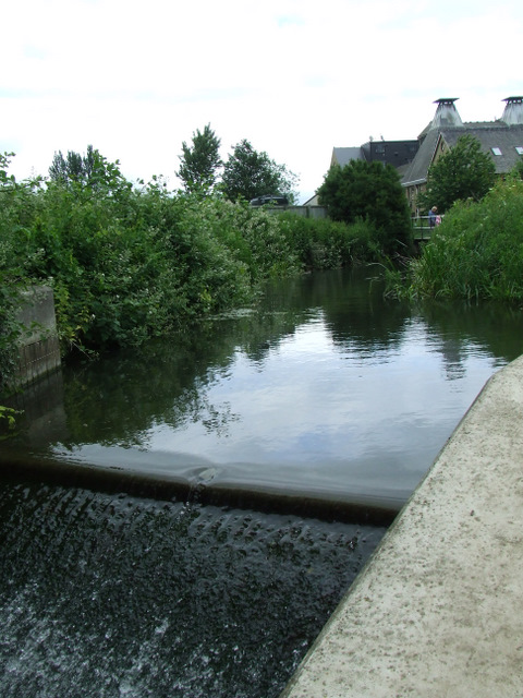 Weir on the Stort navigation