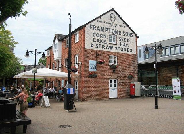 Framptons Mill now a tea bar