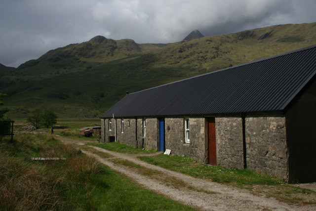 Farm buildings and bothy, Barrisdale