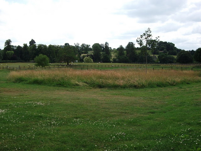 Fields close to Priors Hardwick church