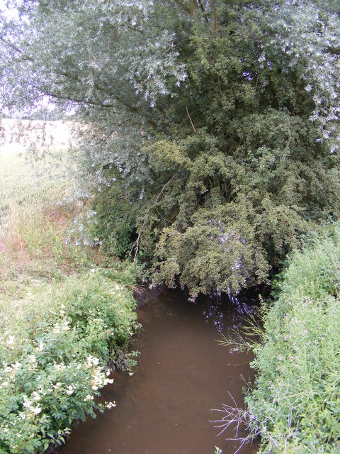 River Ore under the  B1116 Woodbridge Road Bridge