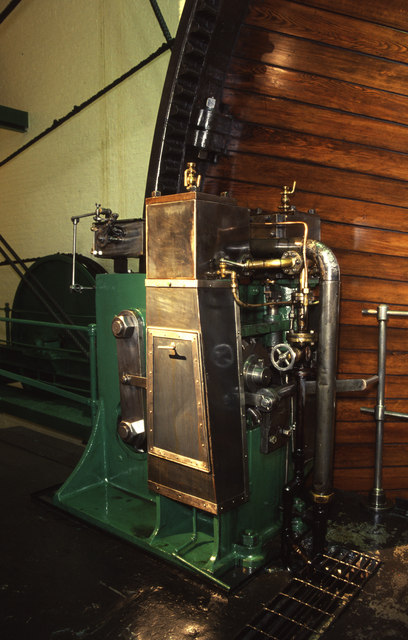 Trencherfield Mill - the barring engine