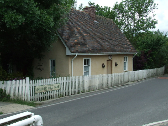 Former Lock Keeper's house