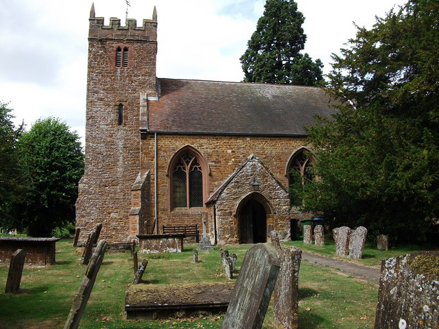 Priors Hardwick church