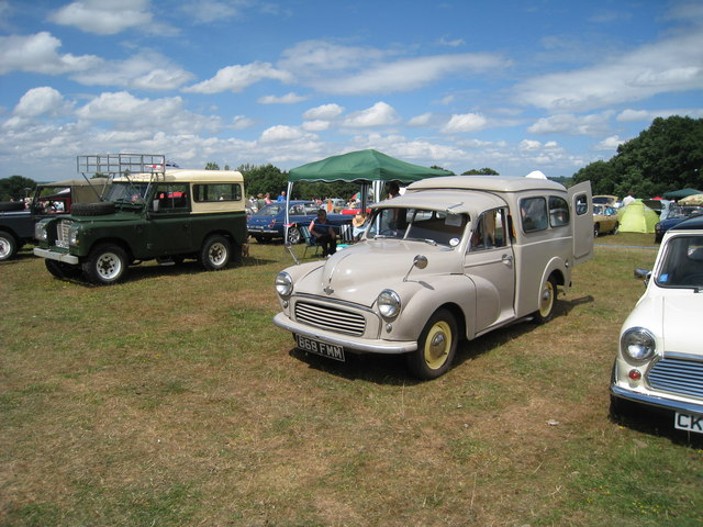 Morris Minor Van at Darling Buds Classic Car Show