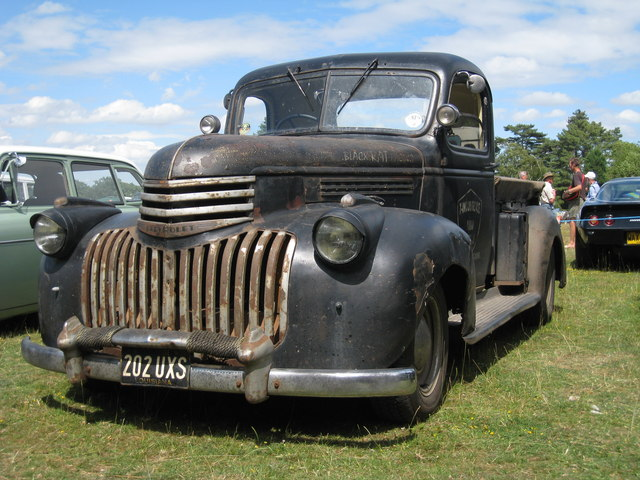 Chevrolet Truck at Darling Buds Classic Car Show