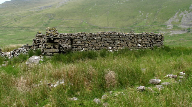 Ruin of Beudy'r Cwm