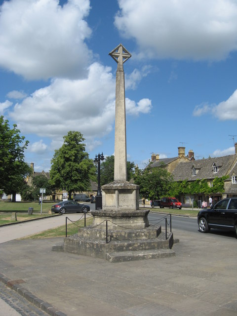 War memorial, Broadway, Worcestershire