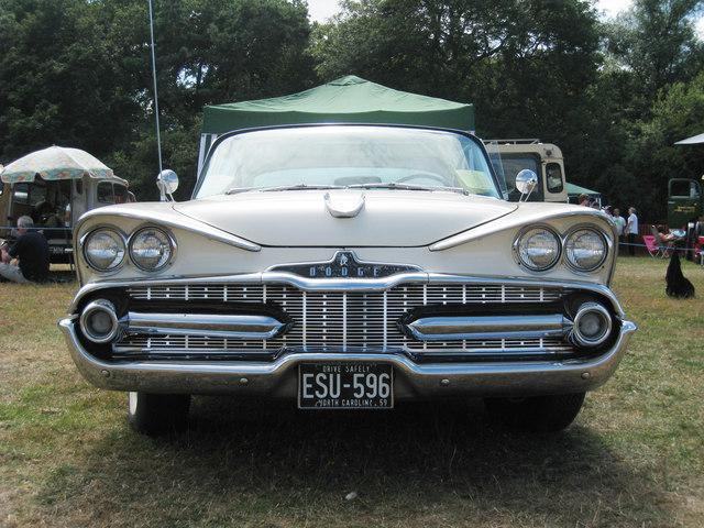 Dodge at Darling Buds Classic Car Show