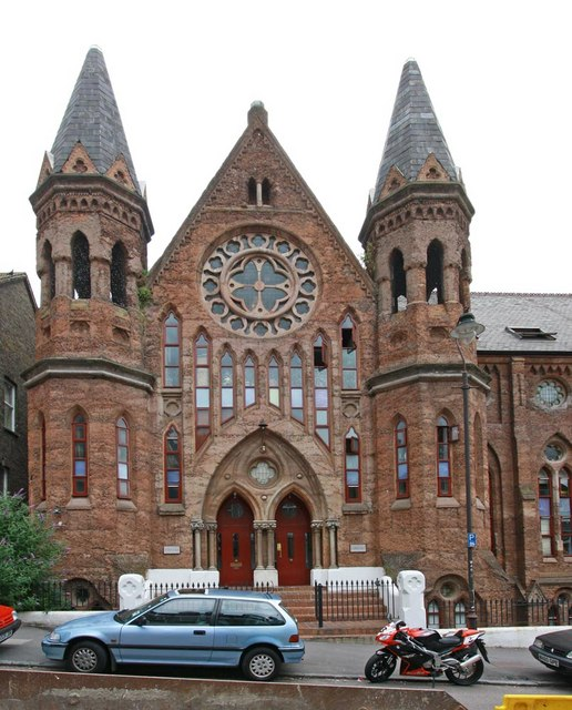 Svedborgian church, Waldegrave Road, London SE19