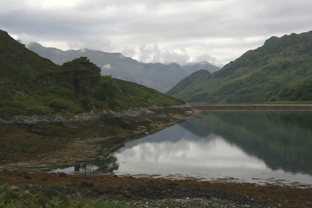 Loch Hourn coast
