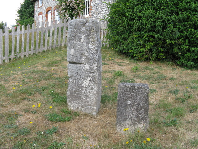 Unknown origin of standing stones