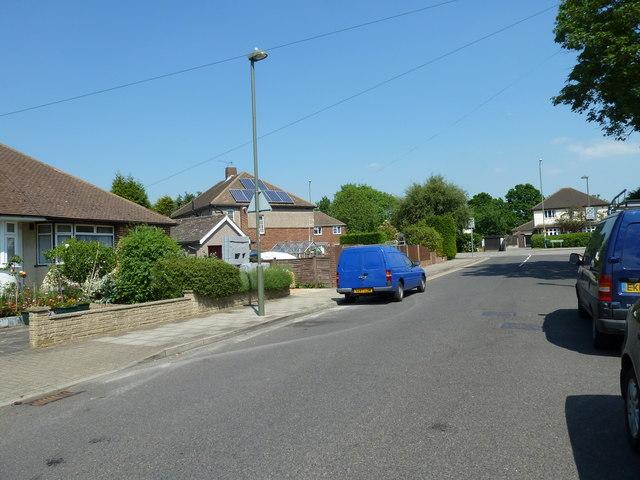 Lamppost in Shepperton Road