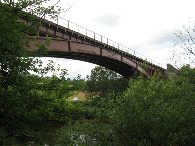 Victoria Railway Bridge, River Severn, Worcestershire