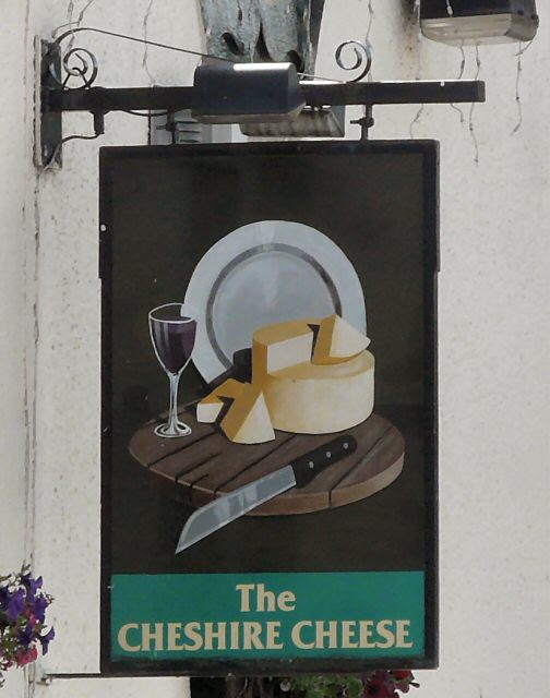 Cheshire Cheese Sign