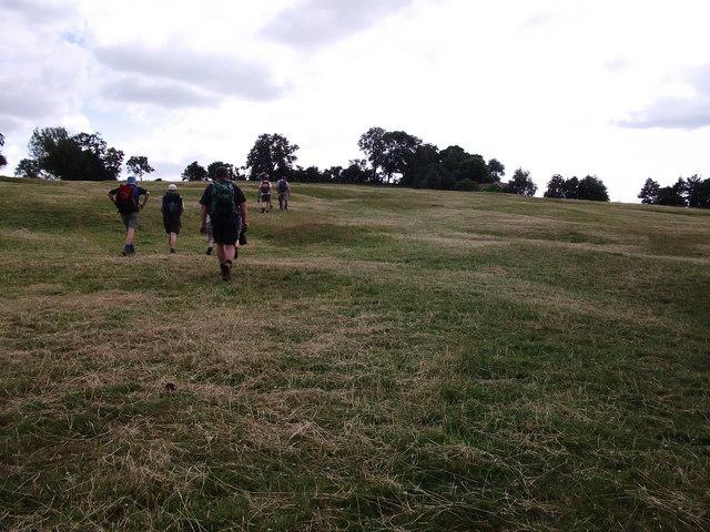 Climbing Hardwick Hill
