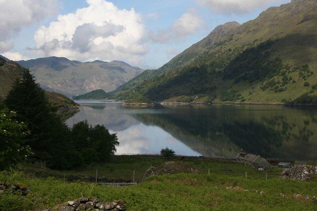 Skiary and Loch Hourn