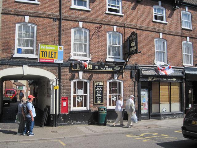 Pack Horse Inn from Eastgate