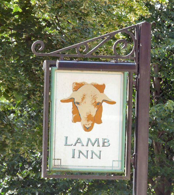 Sign of Lamb Inn