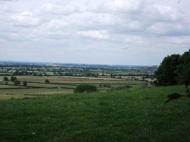 View from the top of Hardwick Hill