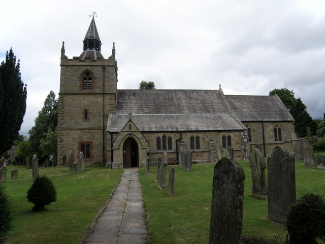 St  Giles  Church  Chollerton