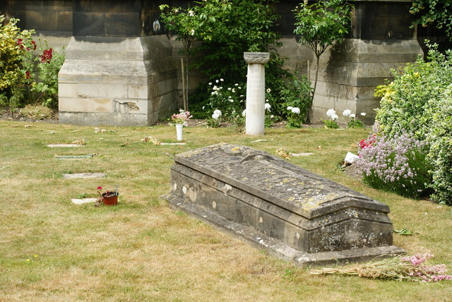 Graves at the Catholic Church of Our Lady and the English Martyrs, Cambridge