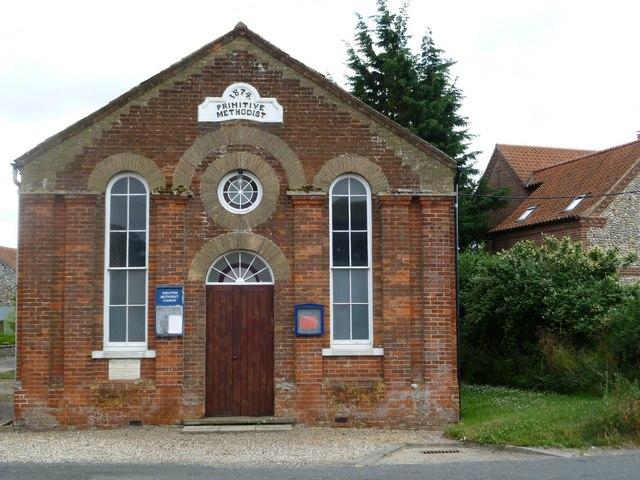 Wighton: Primitive Methodist Chapel (1874)