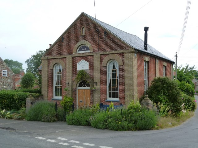 Binham: Primitive Methodist Chapel (1868)