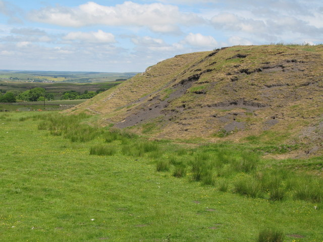 Disused colliery north of Dykes