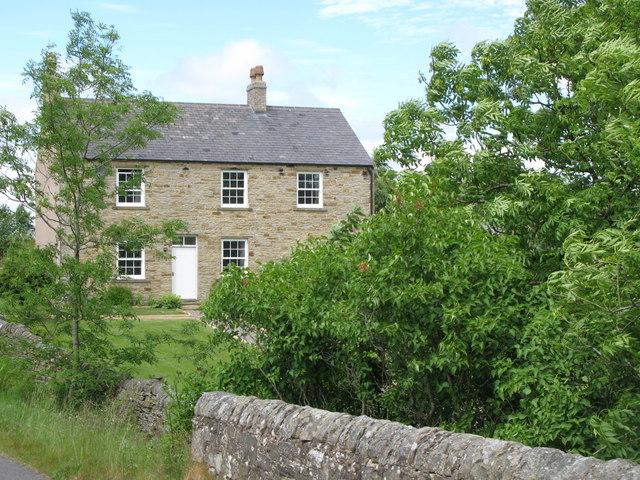 House near Christowell Burn