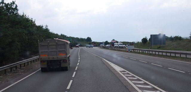 A11 joins the A14