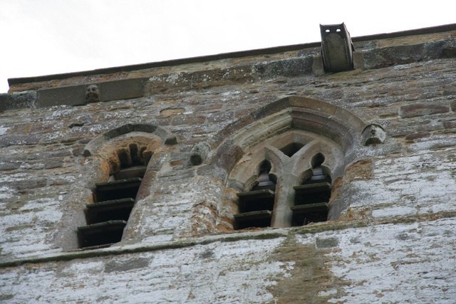 Windows in the tower