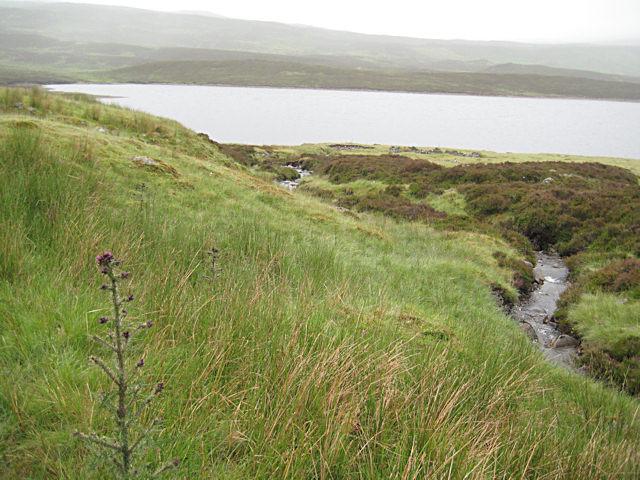 Above Loch Errochty