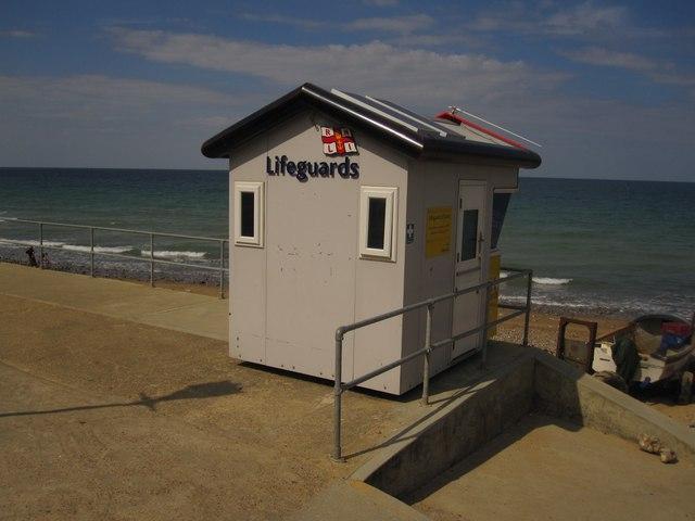 East Runton: the RNLI Lifeguard Station