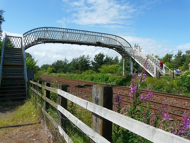 Railway footbridge, Annan