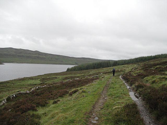 Damp day at Loch Errochty