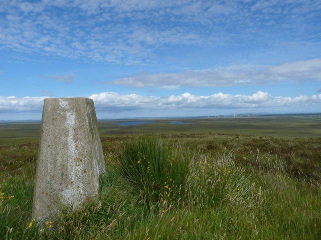 Triangulation pillar, Coire na Beinne