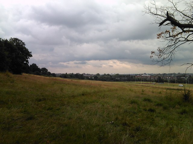 View of Gospel Oak from Parliament Hill