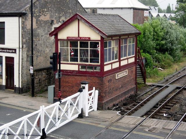 Ramsbottom Station Signal Box (East Lancs Railway)