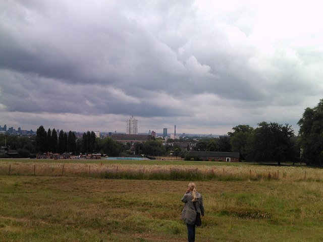 View of the BT Tower from Parliament Hill #2