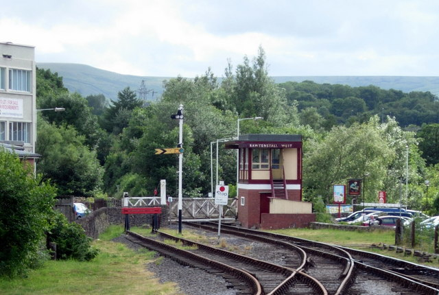 Rawtenstall West Signalbox (East Lancs Railway)