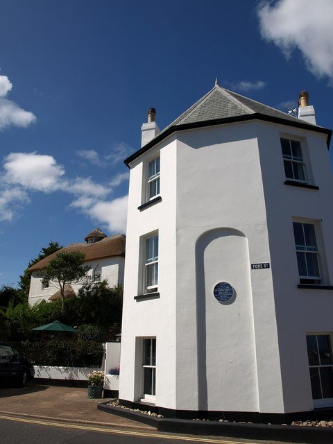 Octagon and museum, Budleigh Salterton