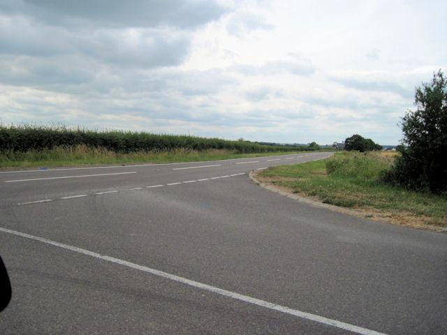 T junction near Gayton Top