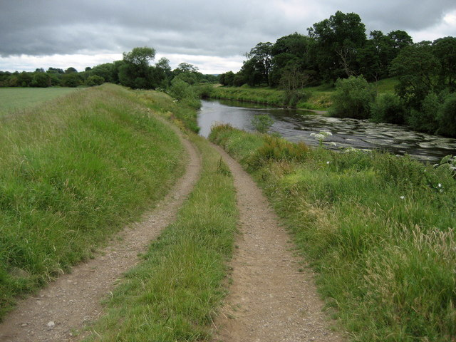 The River Tees at Low Middleton