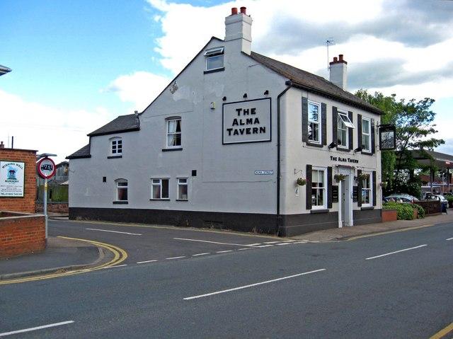 The Alma Tavern, 74 Droitwich Road