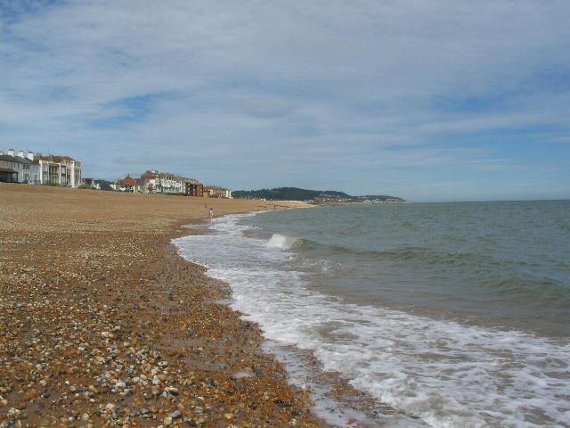 Hythe shore