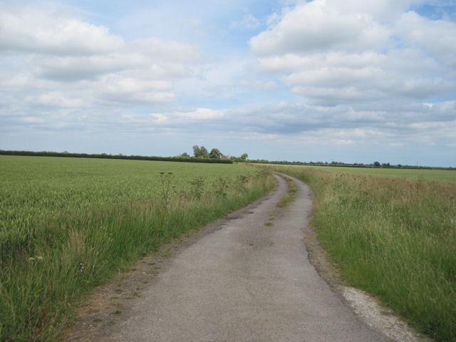 Track to Pyewipe Farm