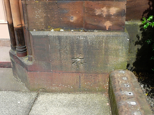 Ordnance Survey bench mark, St. Andrew's Church